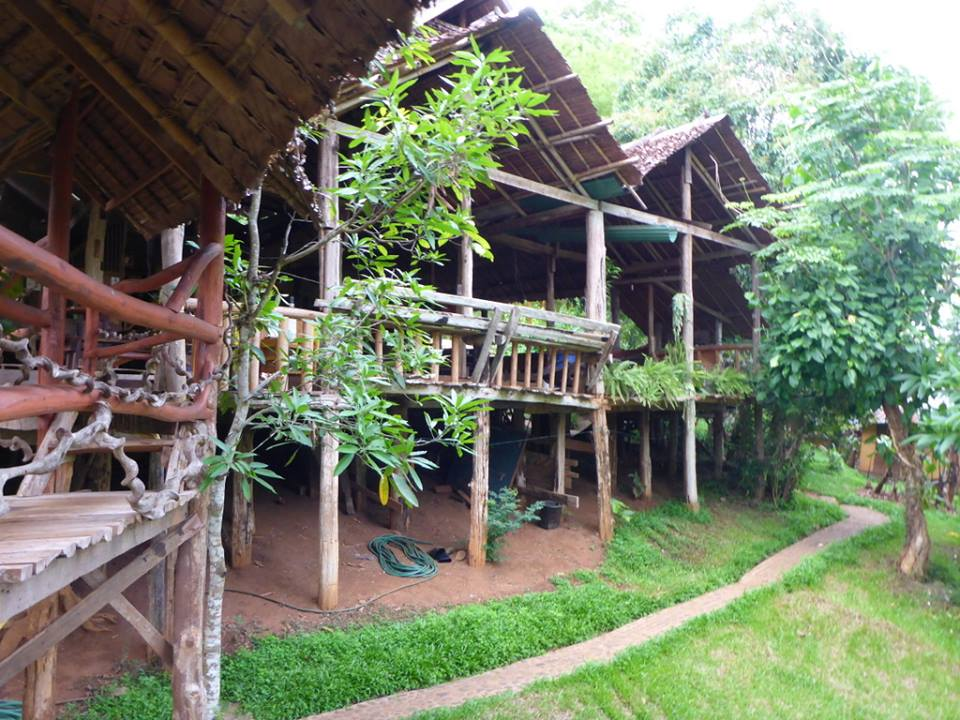 Overnachten: The Cave Lodge in Thailand