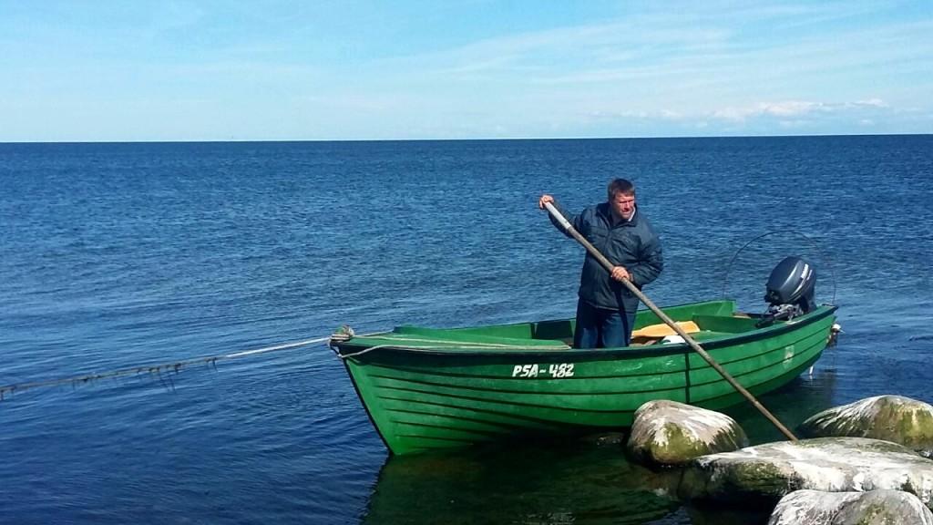 De vissermannen van Kihnu in Estland