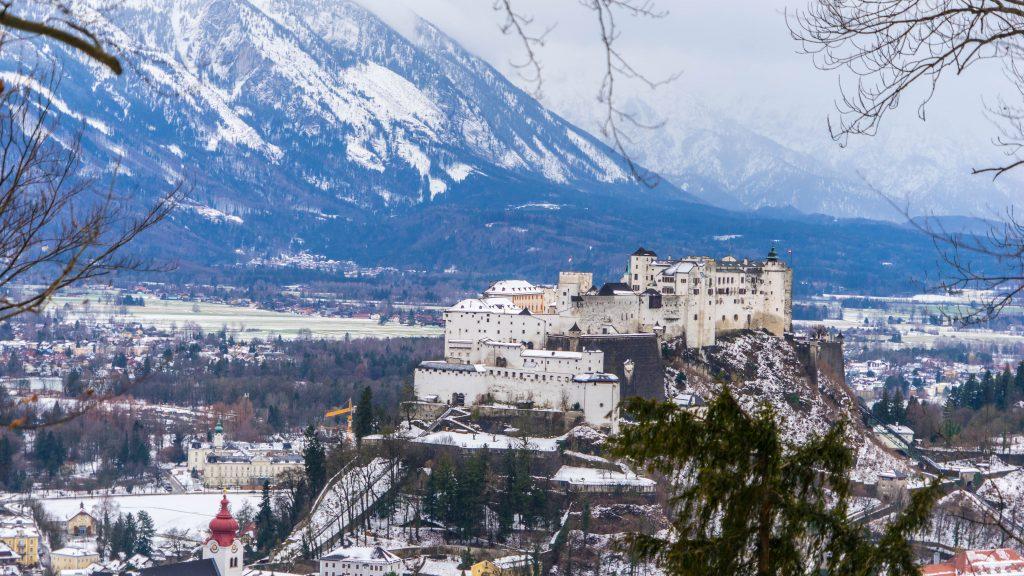 De mooiste panorama's en uitzichtpunten in Salzburg, Oostenrijk
