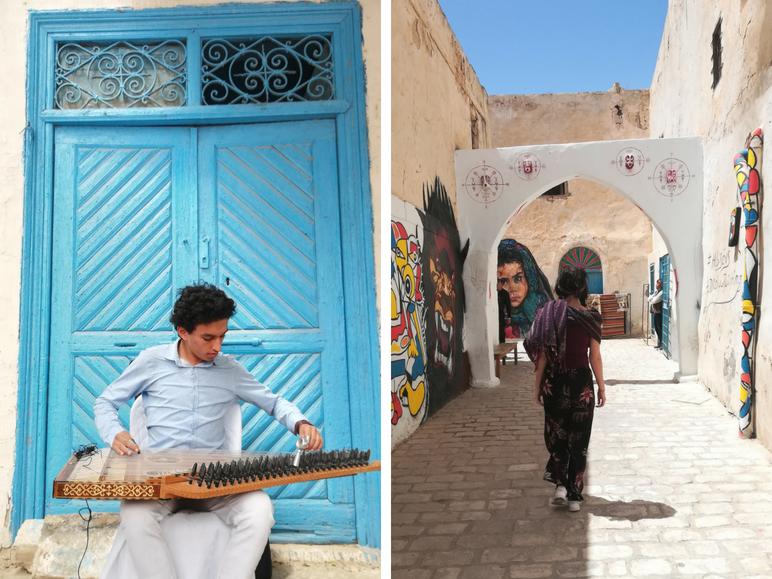 Houmt-souk-Tunesie