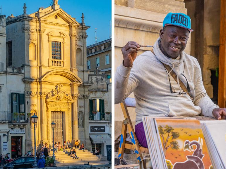 Lecce-zuiden-Italie
