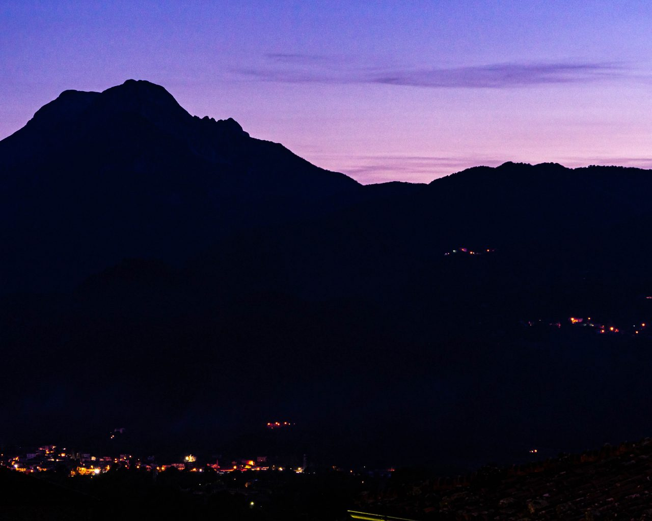 Barga-by-night-zonsondergang
