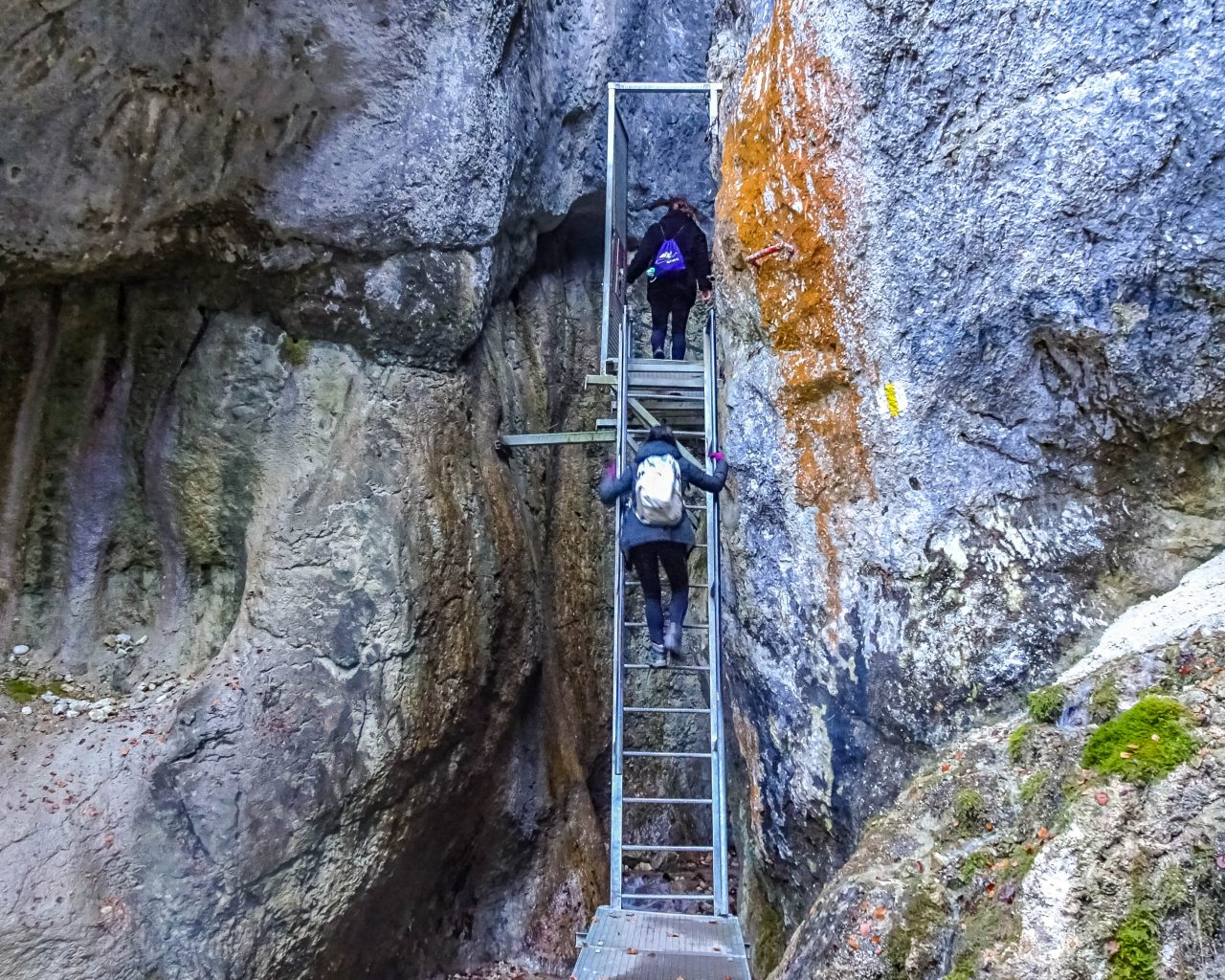 7-ladders-canyon-roemenie-trappen