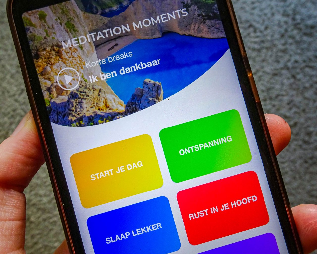 Meditatie-apps-meditation-moments-menu