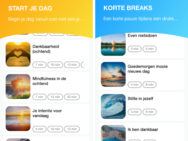 Screenshot-scherm-Meditation-moments-meditatie-apps