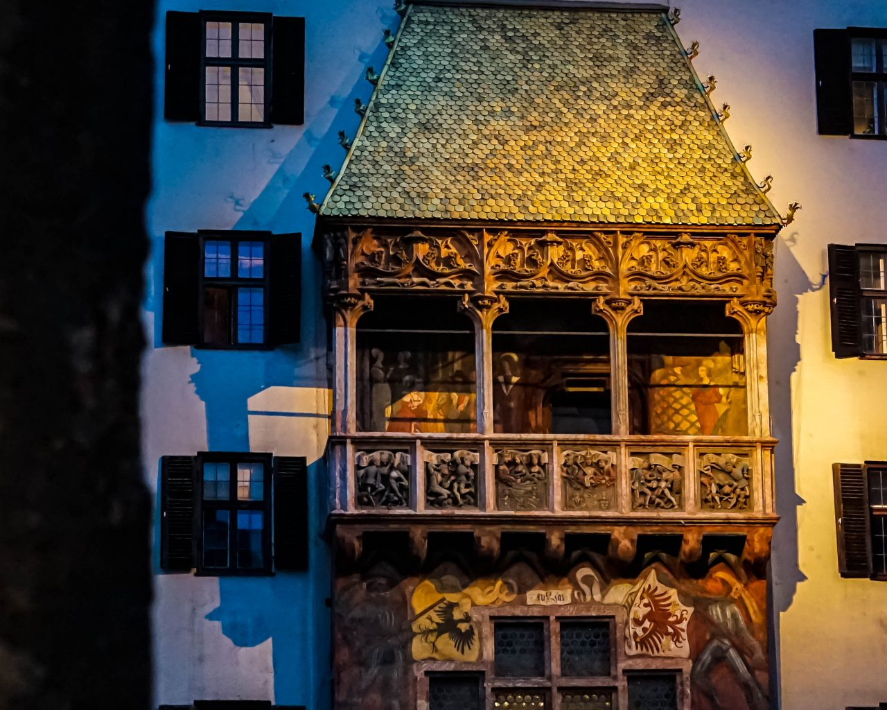 Golden-roof-Innsbruck-nacht