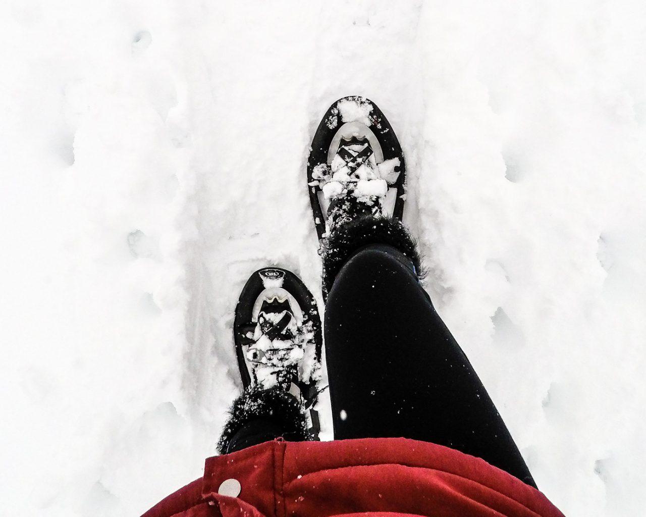 Sneeuwschoenwandelen-wandelsokken