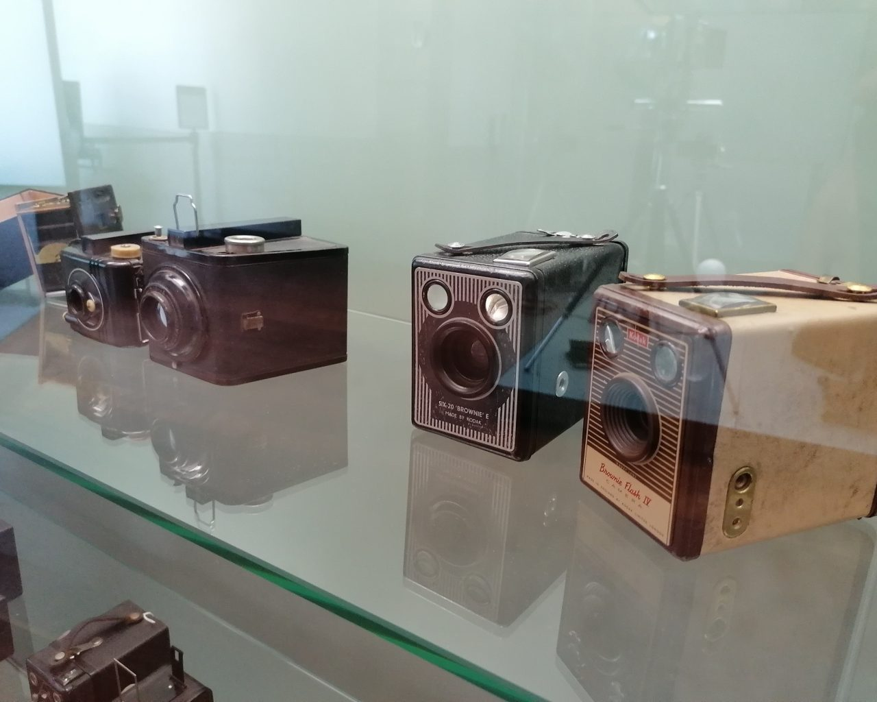 Oude-camera's-in-museum